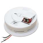 Kidde i12060-A (21006931) 120V AC/DC Wire-in ionization Smoke Alarm with 9V Alkaline Battery Back Up