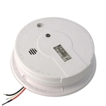 Kidde i12080 (21006379) 120V AC/DC Wire-in ionization Smoke Alarm with 9V Battery Back Up