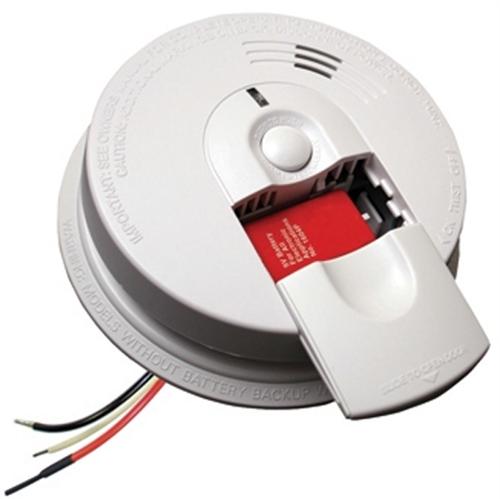 Kidde I4618ac Firex Hardwired Smoke Alarm With Battery Backup