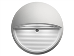 Lithonia OLSR WH M6 LED Step Light Round 9W 4000K Cool White 370 Lumens