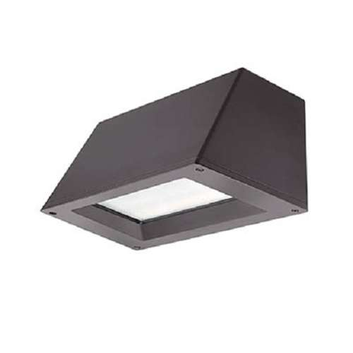 Lithonia WST LED P3 40K VF MVOLT DDBXD 50W LED Outdoor Decorative Trapezoid  Architectural Sconce, 4000k Color Temperature, Visual Comfort Forward