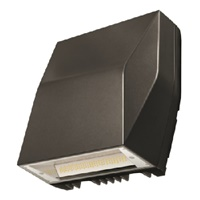 Lumark AXCL12A 123W Axcent LED Wall Light, Full Cutoff, 4000K, Carbon Bronze Finish