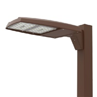Lumark PRVS-A60-UNV-T4 163W Discreet LED Area Lighting, 2 LEDs, 18900 Lumens, 120-277V, Type IV Distribution