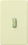 Lutron AB-600M-AL Abella 600W Incandescent / Halogen Single Pole / Multi Location Dimmer in Almond