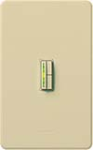 Lutron AB-600M-IV Abella 600W Incandescent / Halogen Single Pole / Multi Location Dimmer in Ivory