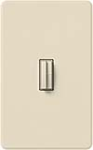 Lutron AB-AD-LA Abella 120V Companion Dimmer in Light Almond