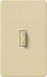 Lutron AB-S6AM-IV Abella 120V / 6A Digital Single Pole Switch in Ivory