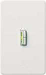 Lutron ABLV-1000M-WH Abella 1000VA (800W) Magnetic Low Voltage Single Pole / Multi Location Dimmer in White