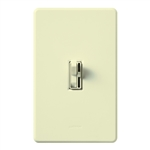 Lutron AY-10PH-AL Ariadni 1000W Incandescent / Halogen Single Pole Preset Dimmer in Almond