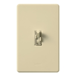 Lutron AY2-LSFQH-IV Ariadni 300W & 1.5A Single Pole Incandescent / Halogen Dimmer and 3-Speed Fan Control in Ivory