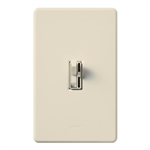 Lutron AYCL-153P-LA Ariadni 600W Incandescent, 150W CFL or LED Single Pole / 3-Way Dimmer in Light Almond