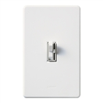 Lutron AYCL-153P-WH Ariadni 600W Incandescent, 150W CFL or LED Single Pole / 3-Way Dimmer in White