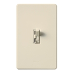 Lutron AYFSQ-F-LA Ariadni 120V 1.5A Single Pole/3-Way 3-Speed Fan Control in Light Almond