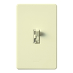Lutron AYFSQ-FH-AL Ariadni 120V 1.5A Single Pole/3-Way 3-Speed Fan Control in Almond