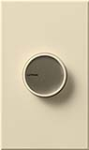 Lutron C-600-BE Centurion 600W Incandescent / Halogen Single Pole Rotate On-Off Dimmer in Beige
