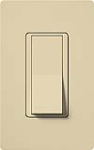 Lutron CA-1PSH-IV Claro 15A Single Pole Switch in Ivory