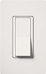 Lutron CA-1PSH-WH Claro 15A Single Pole Switch in White