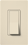 Lutron CA-3PS-LA Claro 15A 3-Way Switch in Light Almond