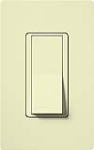 Lutron CA-4PSH-AL Claro 15A 4-Way Switch in Almond