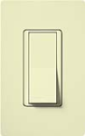 Lutron CA-4PSNL-AL Claro 15A 4-Way Switch with Locator Light in Almond