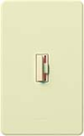 Lutron CN-10P-AL Ceana 1000W Incandescent / Halogen Single Pole Dimmer in Almond