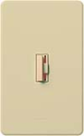 Lutron CN-10P-IV Ceana 1000W Incandescent / Halogen Single Pole Dimmer in Ivory