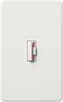 Lutron CN-10P-WH Ceana 1000W Incandescent / Halogen Single Pole Dimmer in White