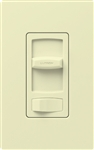 Lutron CT-600PH-AL Skylark Contour 600W Incandescent / Halogen Single Pole Preset Dimmer in Almond