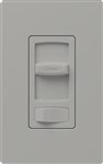 Lutron CT-600PH-GR Skylark Contour 600W Incandescent / Halogen Single Pole Preset Dimmer in Gray