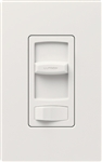 Lutron CT-600PH-WH Skylark Contour 600W Incandescent / Halogen Single Pole Preset Dimmer in White