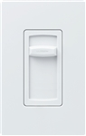 Lutron CTCL-150H-IV Skylark Contour 150W Dimmable CFL or LED, 600W Incandescent/ Halogen Single Pole Dimmer in Ivory
