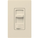 Lutron CTCL-153PDH-LA Skylark Contour 600W Incandescent, 150W CFL or LED Single Pole / 3-Way Dimmer in Light Almond