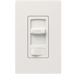 Lutron CTCL-153PDH-WH Skylark Contour 600W Incandescent, 150W CFL or LED Single Pole / 3-Way Dimmer in White