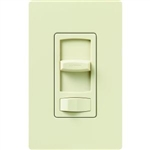 Lutron CTCL-153PH-AL Skylark Contour 600W Incandescent, 150W CFL or LED Single Pole / 3-Way Dimmer in Almond