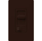 Lutron CTCL-153PH-BR Skylark Contour 600W Incandescent, 150W CFL or LED Single Pole / 3-Way Dimmer in Brown
