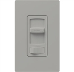 Lutron CTCL-153PH-GR Skylark Contour 600W Incandescent, 150W CFL or LED Single Pole / 3-Way Dimmer in Gray