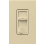Lutron CTCL-153PH-IV Skylark Contour 600W Incandescent, 150W CFL or LED Single Pole / 3-Way Dimmer in Ivory