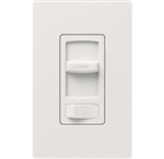 Lutron CTCL-153PH-WH Skylark Contour 600W Incandescent, 150W CFL or LED Single Pole / 3-Way Dimmer in White