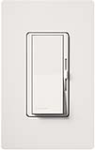 Lutron DVF-103P-277-WH Diva 277V / 6A Fluorescent 3-Wire / Hi-Lume LED Single Pole / 3-Way Dimmer in White