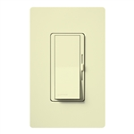 Lutron DVFSQ-F-HO-AL Diva 120V / 2.0A Single Pole / 3-Way Fan Control for Hunter Original Series Fan in Almond
