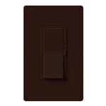 Lutron DVFSQ-F-HO-BR Diva 120V / 2.0A Single Pole / 3-Way Fan Control for Hunter Original Series Fan in Brown