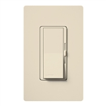 Lutron DVFSQ-F-HO-LA Diva 120V / 2.0A Single Pole / 3-Way Fan Control for Hunter Original Series Fan in Light Almond