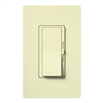 Lutron DVFSQ-LF-AL Diva 1.5 A Fan Speed ControlWith 1.0 A LED or CFL and 2.0 A Incandescent/Halogen Single Pole Switch in Almond