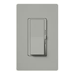 Lutron DVFSQ-LF-GR Diva 1.5 A Fan Speed ControlWith 1.0 A LED or CFL and 2.0 A Incandescent/Halogen Single Pole Switch in Gray