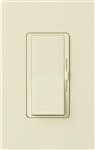 Lutron DVRP-253P-AL Diva 250W Dimmable LED or CFL, 500W Incandescent/Halogen, 500W ELVWith Halogen, Single Pole / 3-Way Reverse-Phase Dimmer in Almond