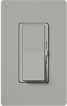 Lutron DVRP-253P-GR Diva 250W Dimmable LED or CFL, 500W Incandescent/Halogen, 500W ELVWith Halogen, Single Pole / 3-Way Reverse-Phase Dimmer in Gray