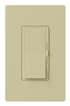 Lutron DVRP-253P-IV Diva 250W Dimmable LED or CFL, 500W Incandescent/Halogen, 500W ELVWith Halogen, Single Pole / 3-Way Reverse-Phase Dimmer in Ivory