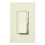 Lutron DVSCFSQ-LF-BI Diva 1.5 A Fan Speed ControlWith 1.0 A LED or CFL and 2.0 A Incandescent/Halogen Single Pole Switch in Biscuit