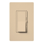 Lutron DVSCFSQ-LF-DS Diva 1.5 A Fan Speed ControlWith 1.0 A LED or CFL and 2.0 A Incandescent/Halogen Single Pole Switch in Desert Stone