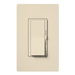 Lutron DVSCFSQ-LF-ES Diva 1.5 A Fan Speed ControlWith 1.0 A LED or CFL and 2.0 A Incandescent/Halogen Single Pole Switch in Eggshell